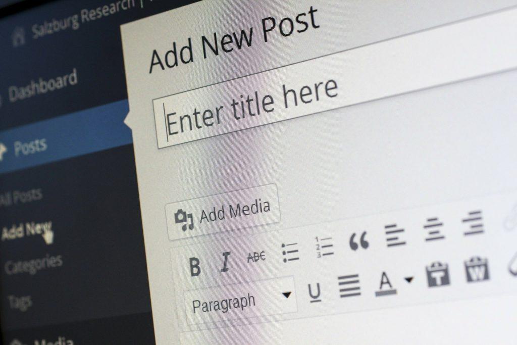 Erstellen Sie ein Blog für Ihre Content-Strategie
